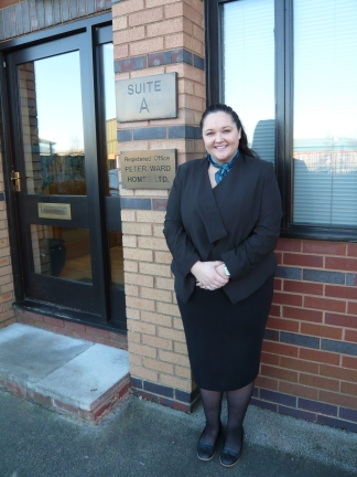 Rachel Davies is the newest member of the Peter Ward Homes family.
