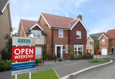 Peter Ward Homes - Open Weekend - Habrough Fields - The Manor